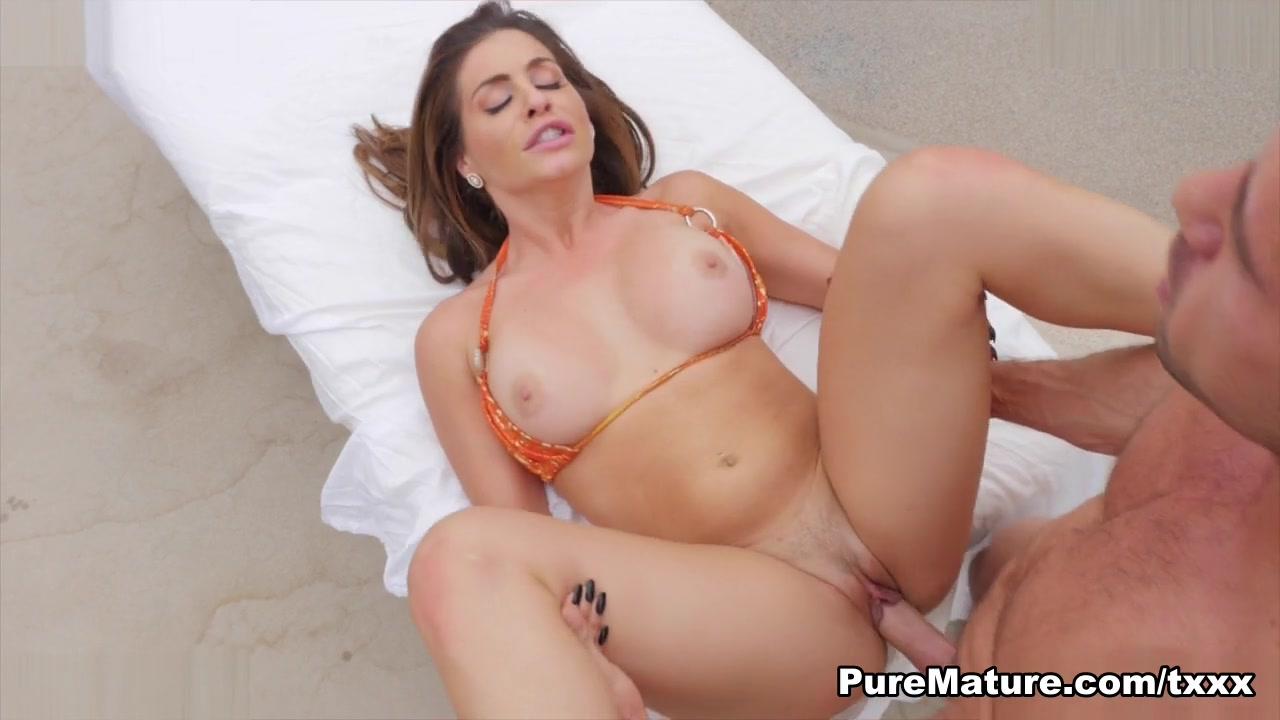Nikki Capone in Summer Heat - PureMature Sex after great oral enjoyment
