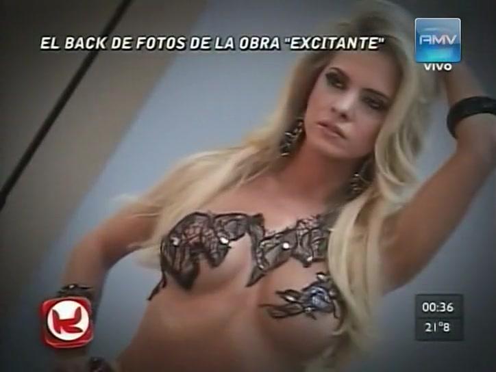 Alejandra Maglietti Sexi Kubik bodypaint porno sex full bodypaintsex