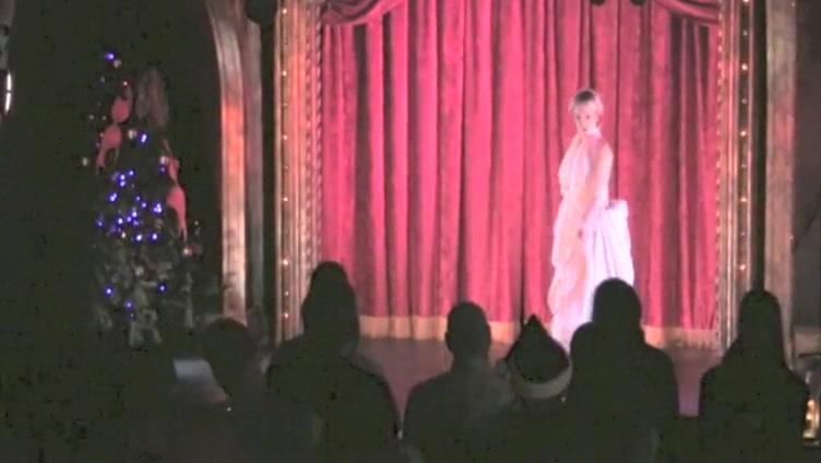 Burlesque Strip SHOW-34 Lady