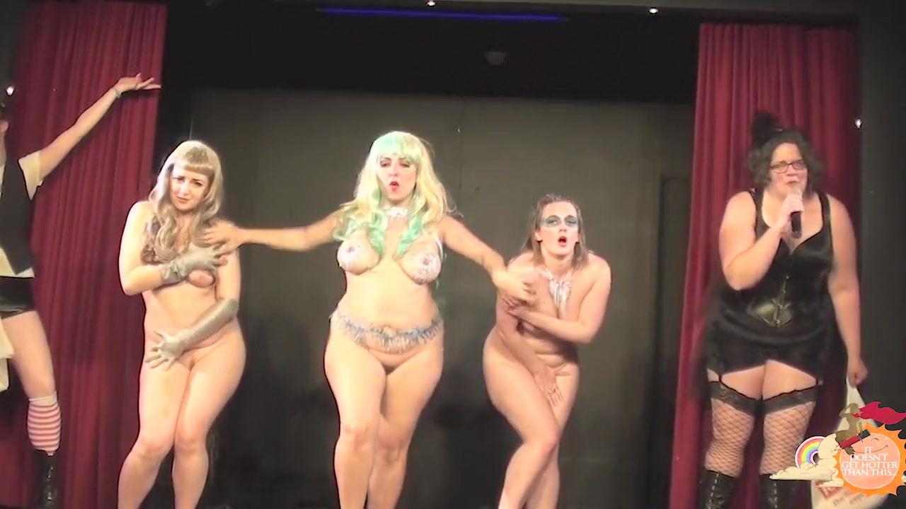 Burlesque Strip SHOW 61 Madame JoJos Tabu Naked Cabaret Pavin In Busty