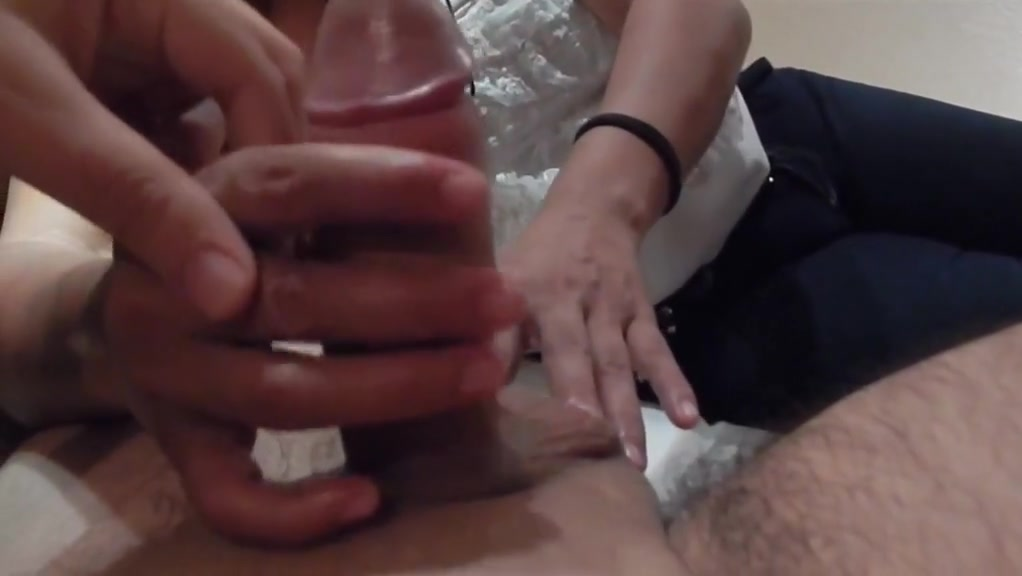Horny homemade Massage, Handjobs adult clip