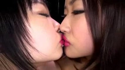 Japanese Lesbian Lipstick Kissing I asian porn babes kimmy kahn and mya as nurses