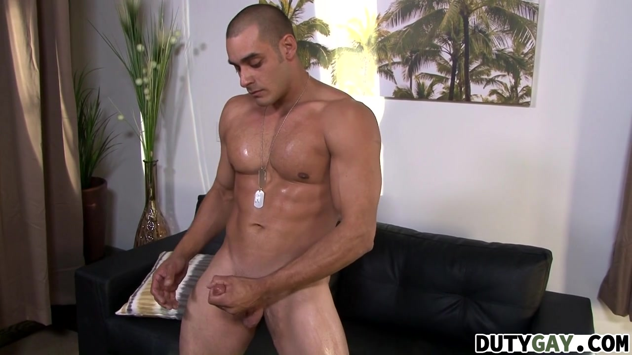 Duty Gay Max Jerks His Hard Dick Angie got with Britney