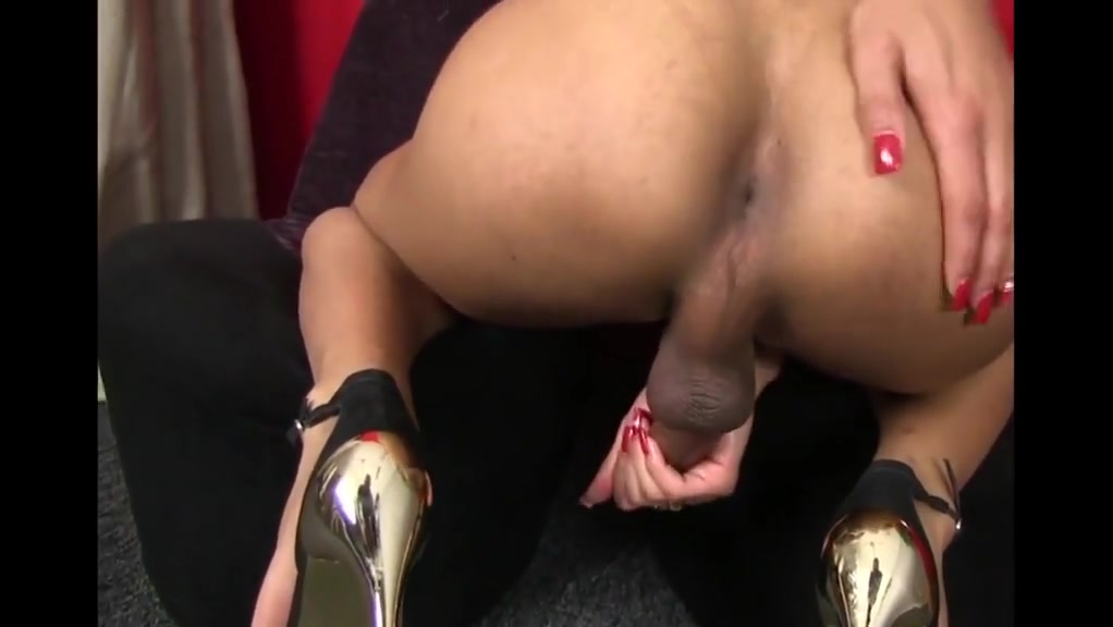 Incredible amateur shemale movie