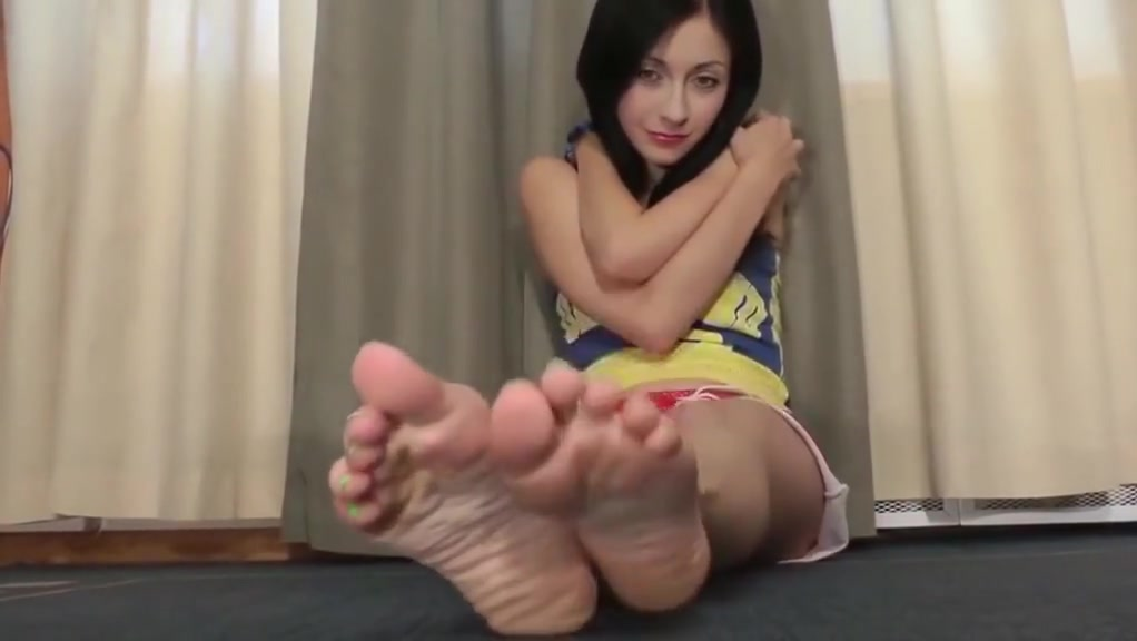 Fabulous amateur Foot Fetish sex scene indulging someone with a shoe fetish