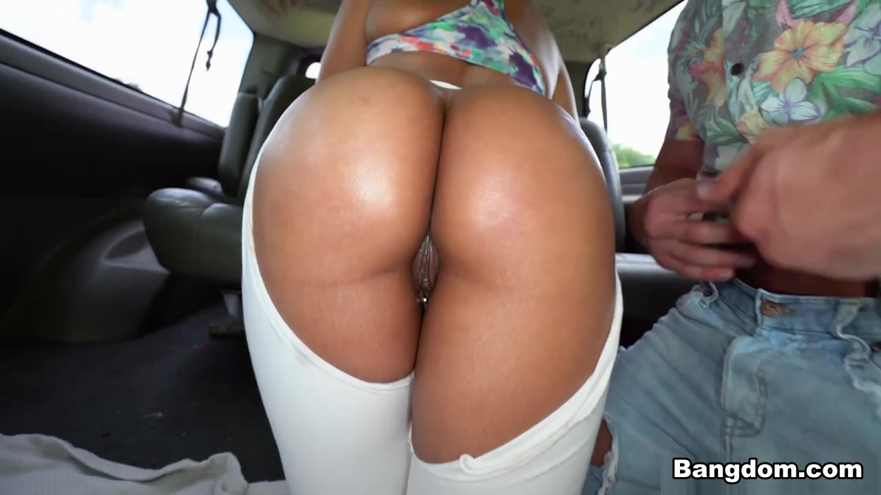 Susana Santos in Pulled Muscle - BangBus Filipina beach babe nude