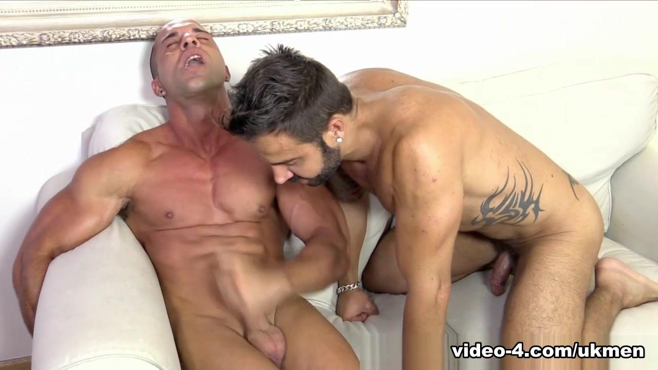 Butch is Cummin! (Bonus Video) - UKNakedMen Blonde Anal Black Cock