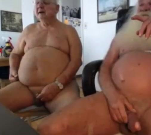 grandpa couple on webcam Shy footjob
