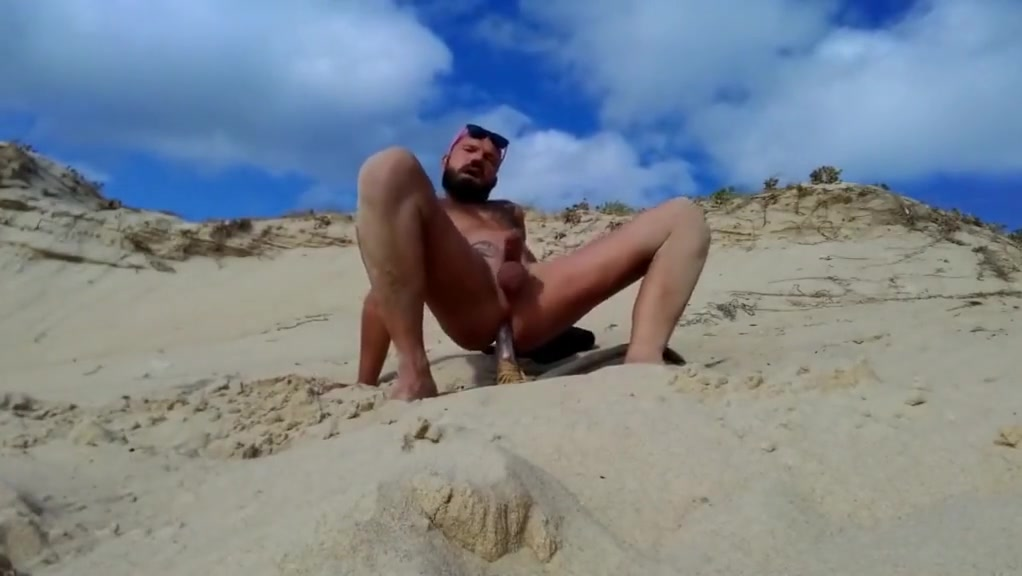 guy fucks himself on the beach with a wooden dildo Facebook ps3 app download