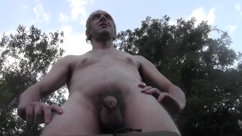 HOT DILF CUM EXPLOSION OUTDOOR IN PUBLIC GARDEN AMATEUR NUDE adult porno movie new blood