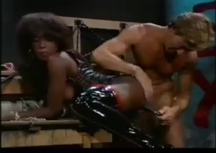 Black mistress gets her ass drilled Hot Couple Fucks Muscled Bisexual Guy!