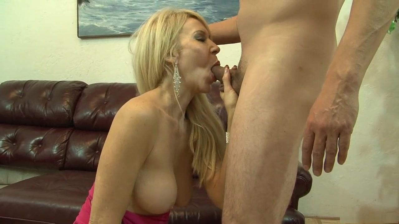 Horny pornstar Erica Lauren in crazy blonde, mature sex clip