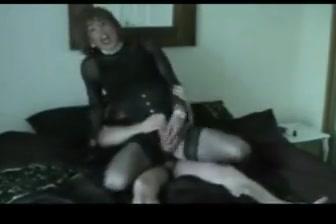 Older ts trap sissy slut services younger daddy boy toy Spy milfs legs in shiny pantyhose