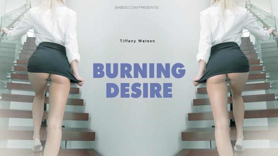 Tiffany Watson in Burning Desire - BlackIsBetter Vintage blue porn