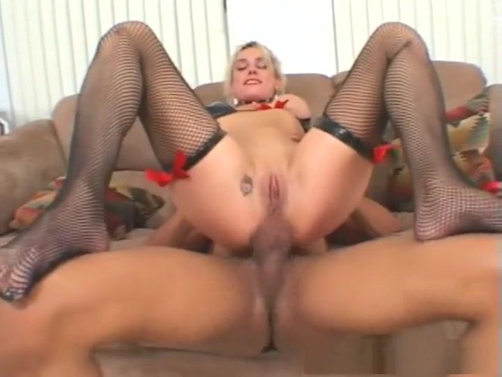 Fabulous pornstar Malory Knoxxx in crazy fishnet, anal xxx movie
