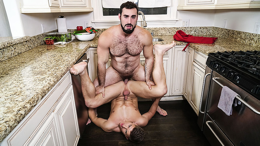 Jake Porter Jaxton Wheeler in Right In Front Of My Salad? - DrillMyHole Bang Sex Porn
