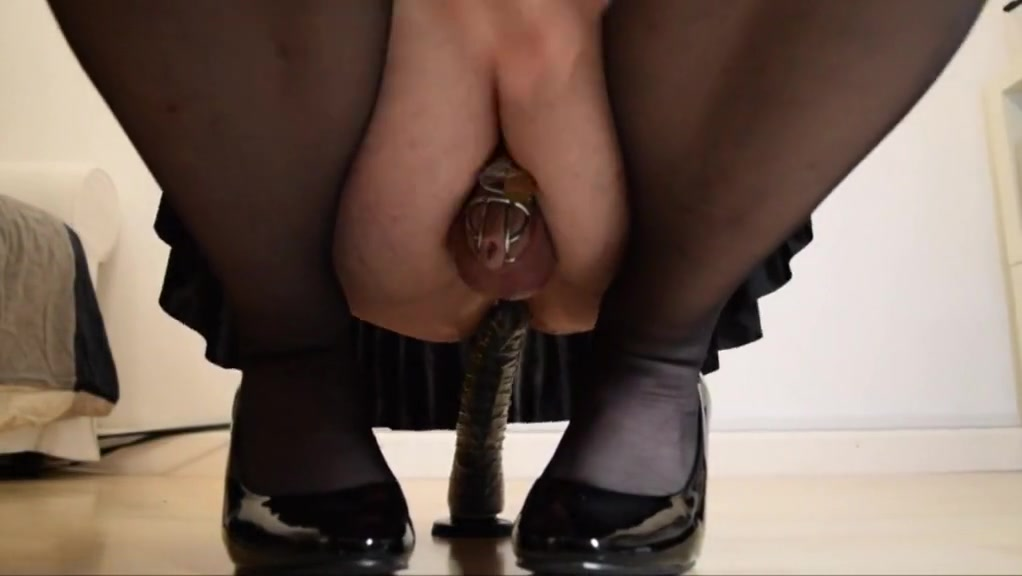 Crossdresser rides small dildo Real life milf sex stories