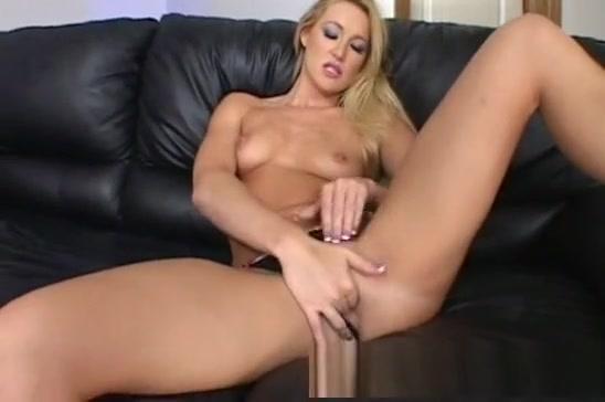 Amazing pornstar in exotic blonde, masturbation sex scene