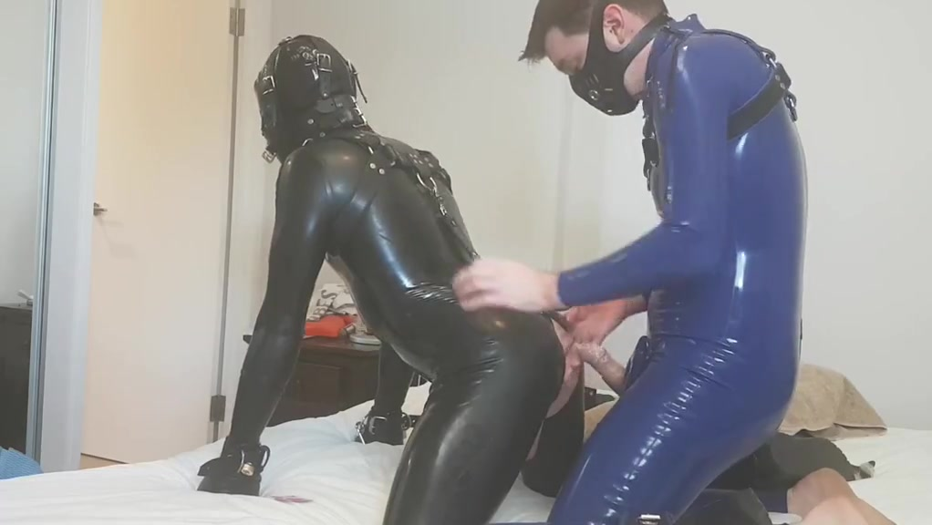 Fucking a rubber slave part 2 Small Cock Anal