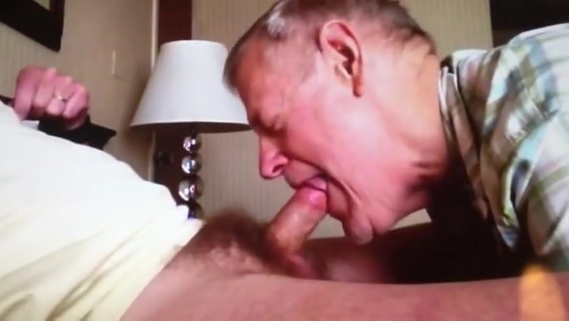 Grandpa blowjob series - 3 Classic deepthroat atm