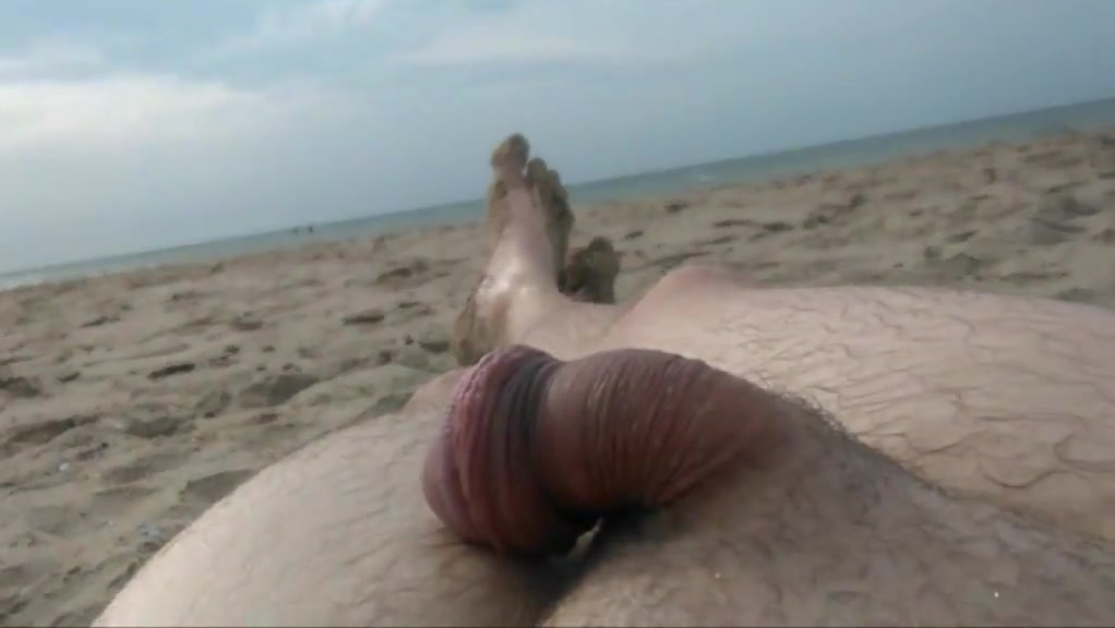 Naked on public beach Lesbian bbw and blond model 1