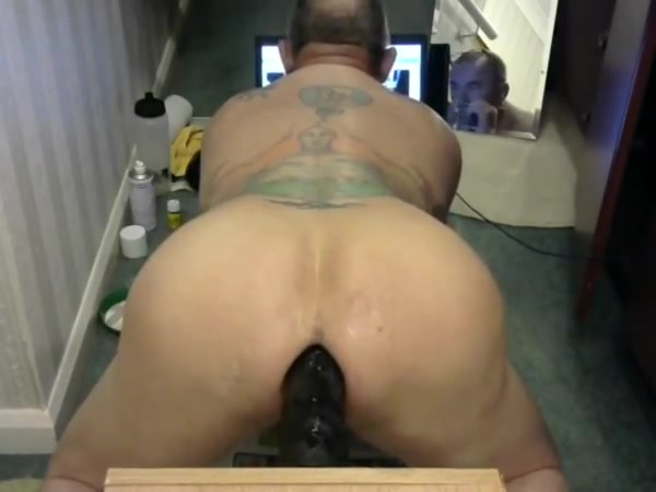 Wrecking my wrecked man pussie sexy anal on top