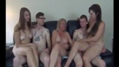 Mom directs their family fuck night ! plastic tits free porn