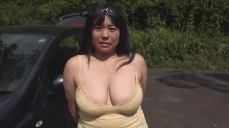 Incredible homemade Big Tits, Outdoor porn clip big boobed hot blonde