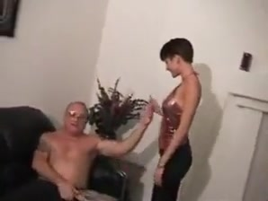 junior babe gives dirty old man blowjob Can a girl get pregnant through anal sex