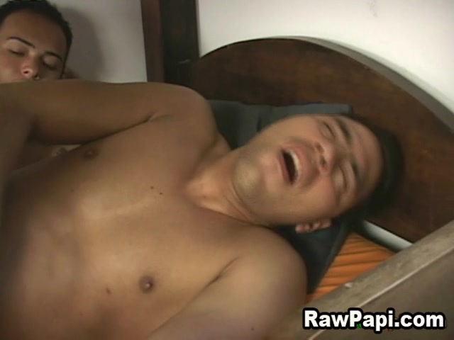 Latino Gay Goes Wild In Bareback Action Big dick daddy anal sex and facial