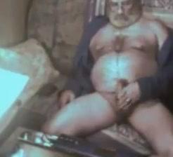 Grandpa cum on webcam 2 Steven Seal