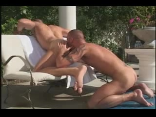 Hot sex by the pool III