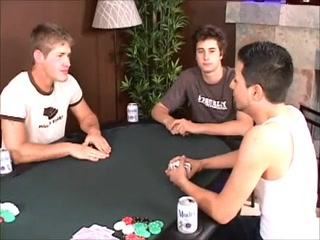 Kinky gay action during strip poker game Horny mature pissing