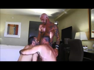 Massive and hot hunks fucking in a hotel room Free xxx hardcore sex