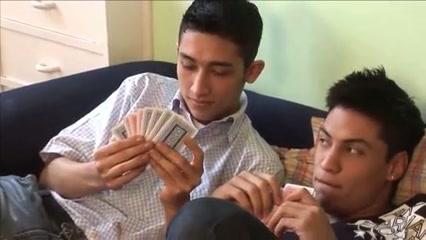 Bareback fuck after poker. Boy twink naked amateur