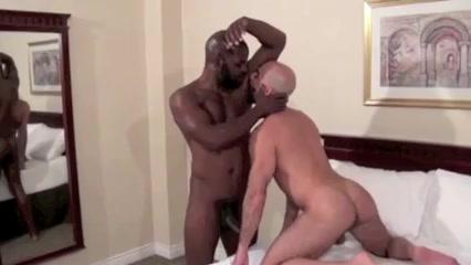 Hairy bald daddy craves BBC bareback Backlot bar calgary