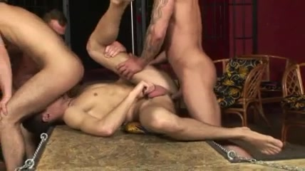 Eager hunks in hot gay group sex action Genuine japanese orgasm