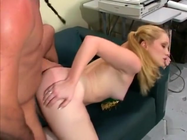 Amazing pornstar Kitty Marie in hottest blonde, anal sex clip Slits and clits