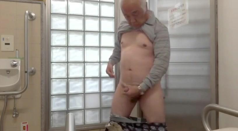 Japanese old man masturbation erect penis semen flows Sunny Leone Brazzar Video