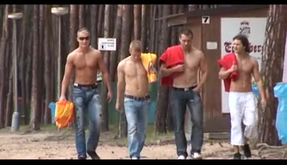 Nice looking gay hunks masturbate by the pool Max Payne Nude Scene