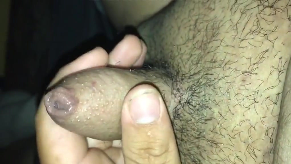 Playing with little dick Sexy skinny thic big boobs micro skirt girl