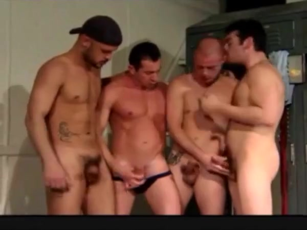 Locker room circle jerk Collette wolfe getting fucked