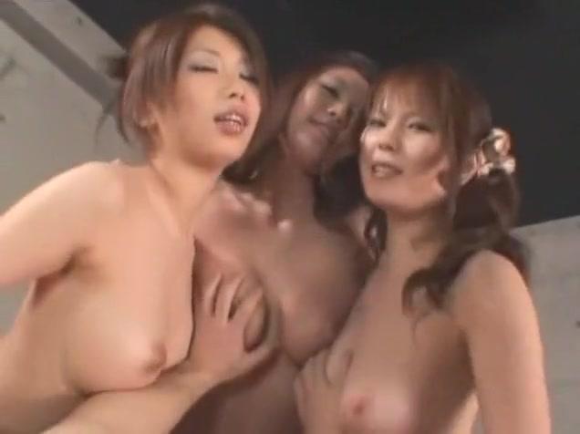 Amazing Japanese slut Azusa Ayano, Hikari Hino, Risa Arisawa in Horny Big Tits, Blowjob JAV scene