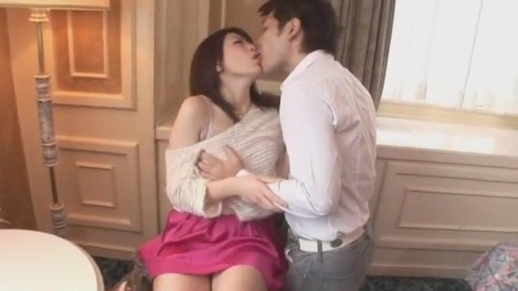Hottest Japanese chick Tomoka Sakurai in Fabulous Fingering, Blowjob JAV clip Asain skinny petie girl with large tits masterbating