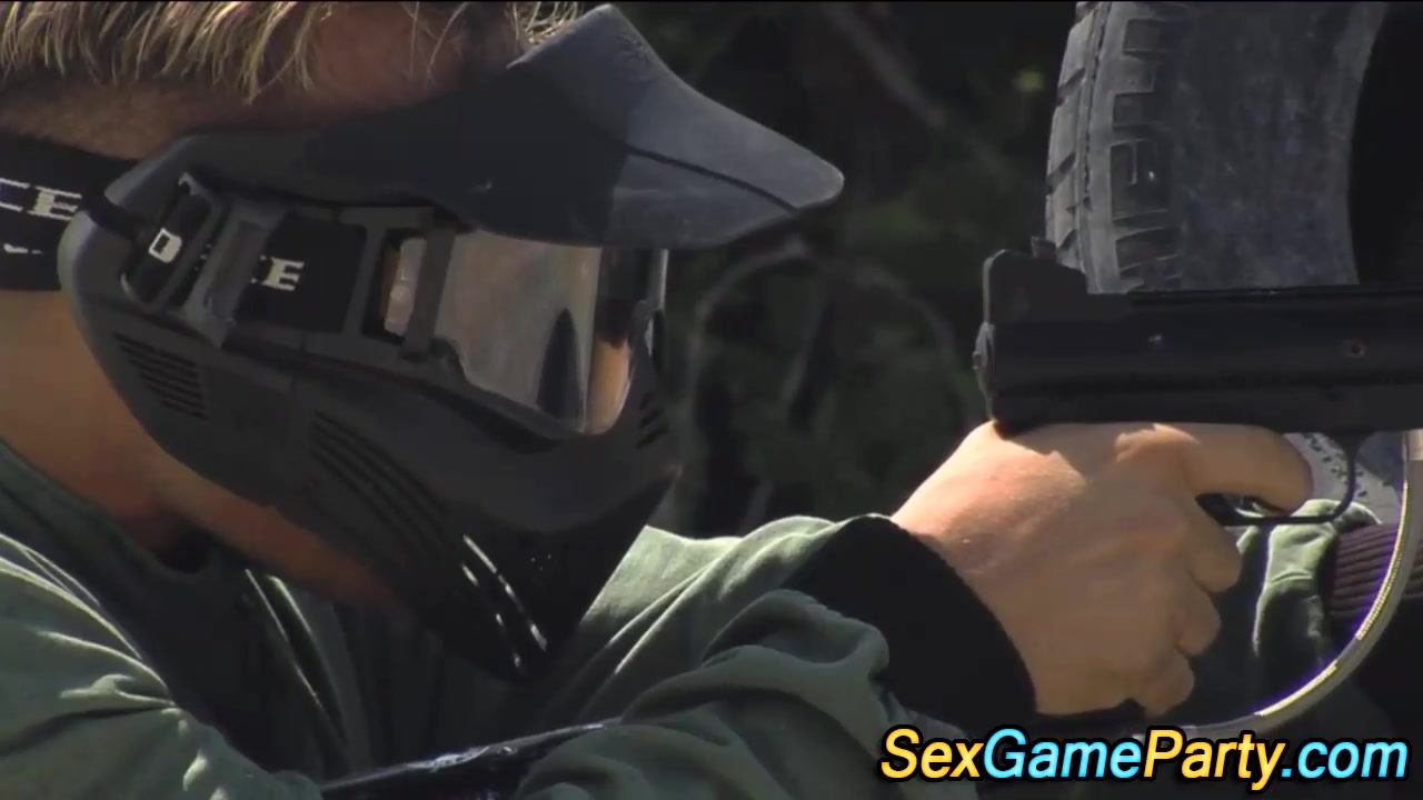 Paintball group fucking 720 anneli leila threesome