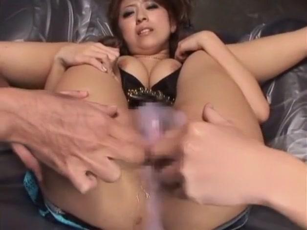 Horny Japanese model Haru Sakuraba in Hottest Dildos/Toys JAV clip