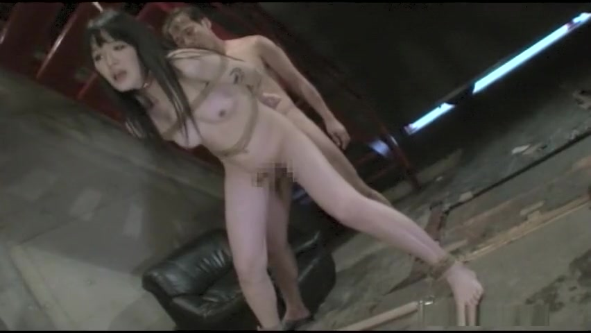 Horny Japanese model in Amazing Guy Fucks, BDSM JAV movie