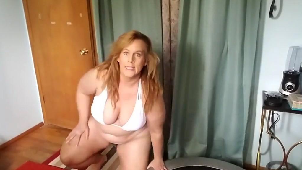 White bikini jumping ! Skinny Gangbang Videostore