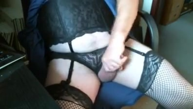 Cumming and eating dressed in sexy lingerie Amatuer wife porn clips