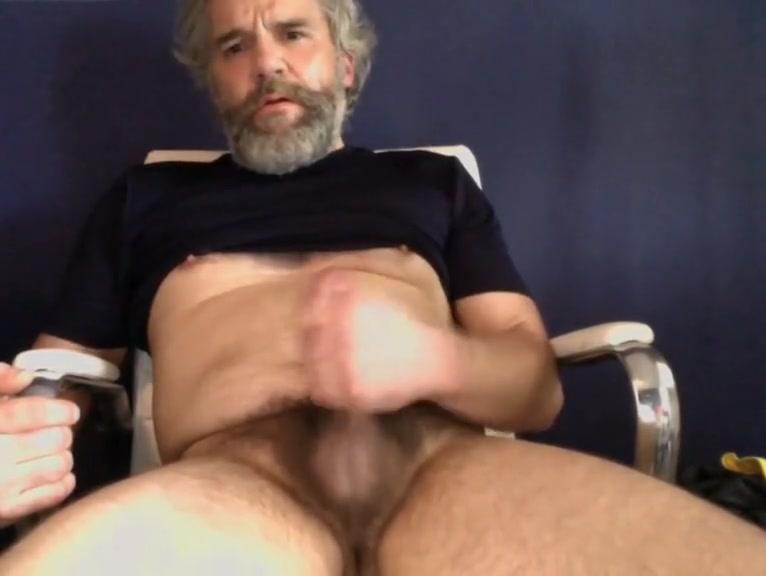 Bearded stud unloading Hot curvy women dildo